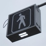 LED Overhead Crosswalk Sign