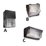 LED Wall Pack housing