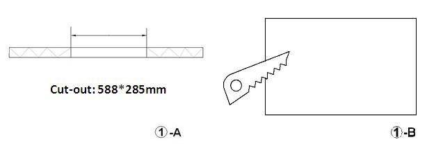 LED Panel Light 1x2